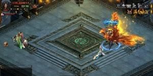 Đấu trường liên server thử tài anh hùng game Phong Vân