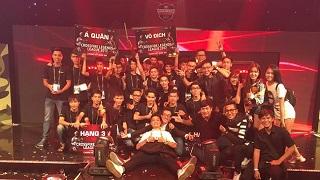 CKQG CF2L: Ahihi Team – Ngôi vương quá thuyết phục