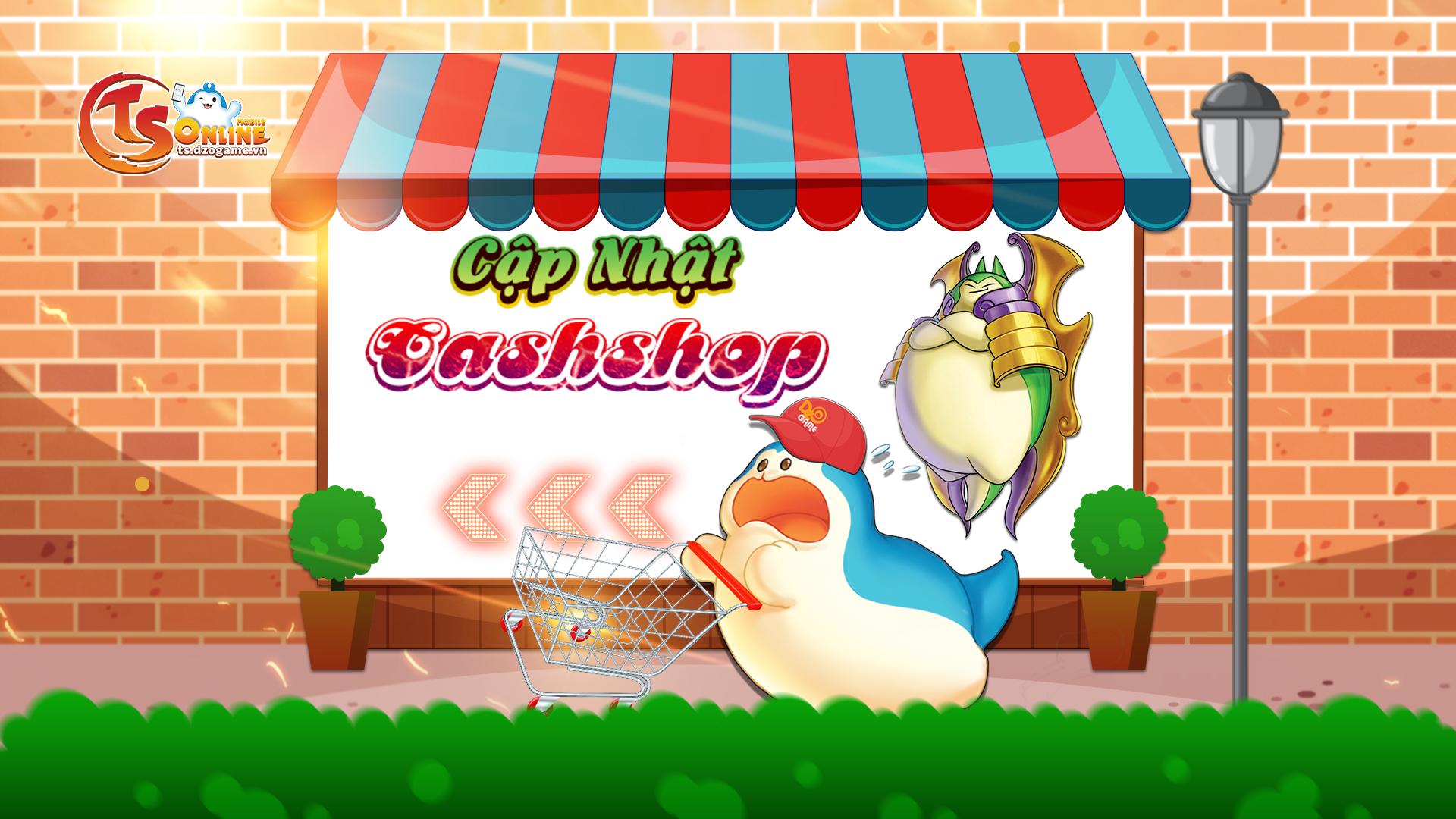 Cập nhật Cashshop ngày 08/07