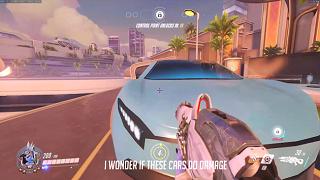 Game thủ có thể bị xe tông chết trong map mới của Overwatch