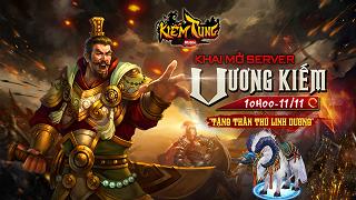 Playpark tặng 500 Giftcode game Kiếm Tung Mobile