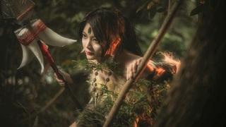 Đứng hình trước cosplay nữ Thợ Săn Nidalee vai trần siêu nóng bỏng