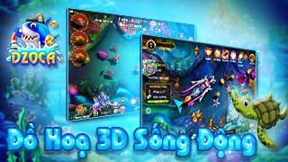 DzoCá – Game bắn cá giải trí cực vui trên di động sắp ra mắt vào cuối tháng 03/2018