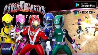 Power Rangers: All Stars – GMO siêu nhân gao của Nexon mở đăng ký trước