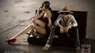Ngắm Luffy và Boa trong bộ figure tinh tế đến từng chi tiết
