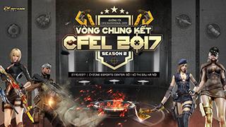 """4 """"chiến thần"""" của eSports Đột Kích quy tụ tại vòng chung kết CFEL 2017 mùa 2"""