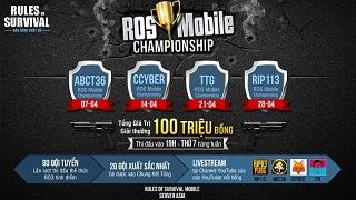 Cáo Cyber và 20 đội sẵn sàng cho ROS Mobile Championship vào 21h tối mai