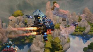 Game hải tặc không chiến kỳ lạ Cloud Pirates đã có bản chơi thử