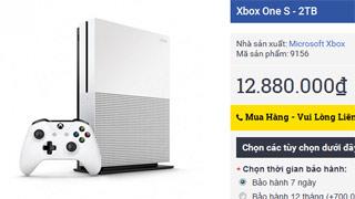 Xbox One S đang cháy hàng, giá về Việt Nam tăng gần gấp đôi