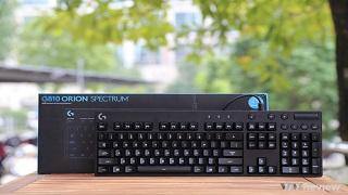 Trải nghiệm bàn phím cơ gaming mới nhất Logitech - G810 Orion Spectrum
