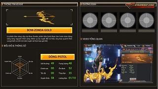 Bow-Zonda Gold – Siêu phẩm thần tiễn mới trên chiến trường CFL