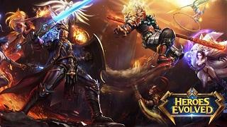 Heroes Evolved – thêm 1 siêu phẩm Moba nữa trên mobile sắp ra mắt