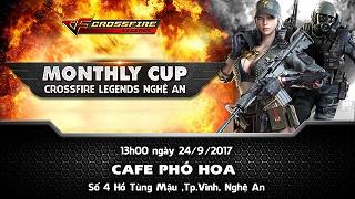 Crossfire Legends – Nghệ An lần đầu có Monthly Cup vào cuối tuần này