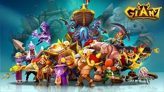 Giant - siêu phẩm game RPG mobile sắp ra mắt của Gamevil