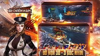 Đại chiến hạm 3D – gMO chiến thuật hải chiến ra mắt game thủ Việt vào tháng 8 này