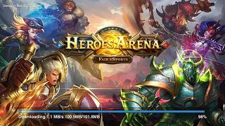 Mãn nhãn với tựa game MOBA mobile độc đáo – Heroes Arena