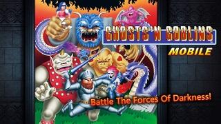 """Ghosts 'n Goblins Mobile – bom tấn """"4 nút"""" của Capcom đặt chân lên mobile"""