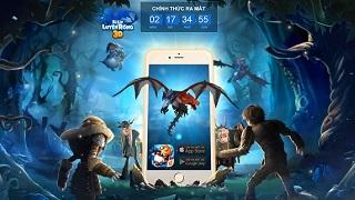 Bí Kíp Luyện Rồng 3D Mobile đã 'xuất đầu lộ diện'