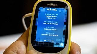Ngạc nhiên chưa Game rắn săn mồi trên Nokia 3310 do người Việt làm