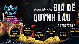 Playpark tặng 400 giftcode game Cửu Tinh Vô Song