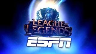 Liên Minh Huyền Thoại chưa chắc được ESPN ưu tiên phát sóng
