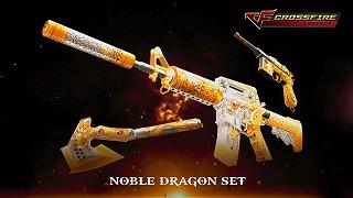 CFL - Sức mạnh đáng sợ của set vũ khí đẳng cấp quý tộc Noble Dragon