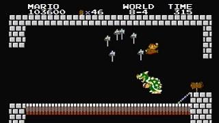 Kỷ lục Super Mario Bros. mới với thời gian là 4m 57s 227ms