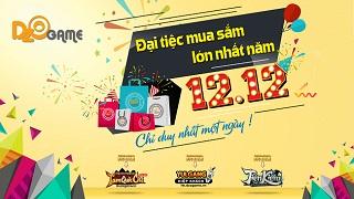 Đại tiệc mua sắm lớn nhất năm từ Dzogame sắp đổ bộ