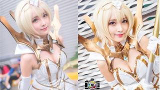 Phát mê với cosplay Lux Thập Đại Nguyên Tố cực yêu đốn tim game thủ