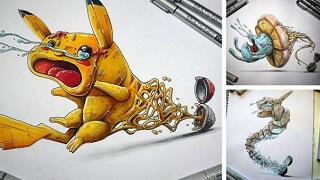Nỗi sợ hãi của Pokemon khi bị hút vào Pokeball
