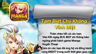 VTC Mobile khai tử Manga Huyền Thoại chỉ sau 4 tháng ra mắt