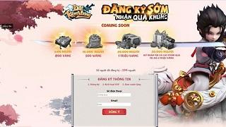 Đại Kiếm Vương Mobile bất ngờ cho phép người chơi lưu danh nhận code