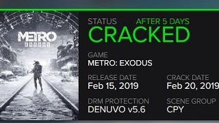 Bom tấn Metro Exodus bị crack chỉ sau 5 ngày