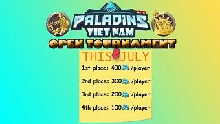 Giải đấu Paladins khủng xuất hiện ở Việt Nam