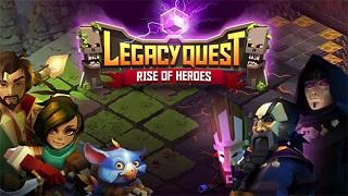 Giải cứu thế giới với tựa game độc đáo Legacy Quest: Rise of Heroes