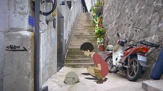 Khi những nhân vật của Studio Ghibli được lồng ghép vào đời thật