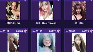 Lộ diện Top 20 Miss Võ Lâm Truyền Kỳ Mobile