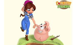 Gameloft chuẩn bị ra mắt game nông trại với tên Country Friends