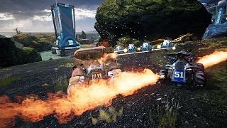 Switchblade – game đua xe bắn súng đồ hoạ cực ấn tượng vừa lộ diện