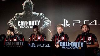 Không được đá Champions League – AC Milan lập team Call of Duty