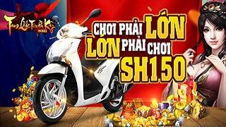 Tam Quốc Truyền Kỳ Mobile chơi lớn tặng SH hơn trăm triệu cho game thủ