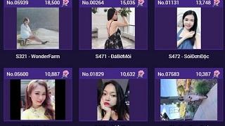 Cuộc so kè khốc liệt trên bảng xếp hạng Miss Võ Lâm Truyền Kỳ Mobile