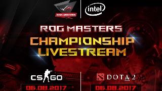 ROG MASTERS 2017 Việt Nam: Hào hứng bước vào vòng chung kết giải đấu DOTA 2 & CS:GO