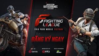 Fighting League - Giải đấu PUBG Mobile lớn nhất Việt Nam với tổng giá trị giải thưởng 450 triệu đồng