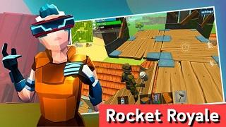 Rocket Royale – Game mobile sinh tồn rất độc đáo