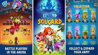 """Legend of Solgard – RPG mới thú vị từ """"cha đẻ"""" huyền thoại Candy Crush"""