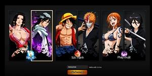Luffy - Ichigo và Naruto hỗn chiến ác liệt trong Manga Đại Chiến