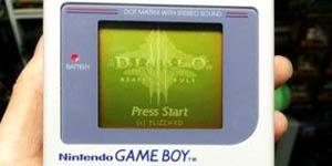 Tự chế game Diablo 3 cho máy Gameboy