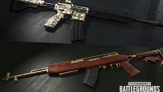 PUBG chính thức cập nhật skin súng