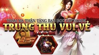 Playpark tặng 300 Giftcode game Trảm Ma